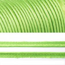 Кант атласный шир.11мм цв.(F237) светло-зелёный