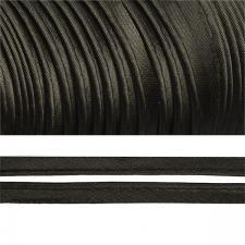 Кант атласный шир.11мм цв.(F322) 060 чёрный
