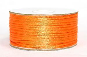 Шнур атласный круглый 2-3мм цв. 3020 оранжевый