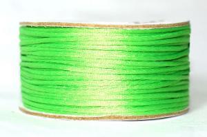 Шнур атласный круглый 2-3мм цв. 3038 салатовый