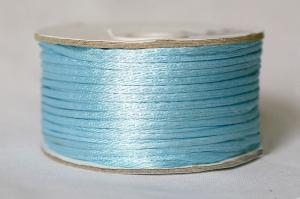 Шнур атласный круглый 2-3мм цв. 3105 голубой