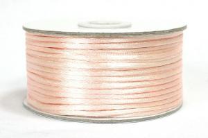 Шнур атласный круглый 2-3мм цв. 3124 розовый
