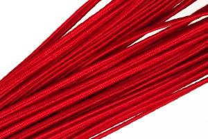 """Шнур отделочный 1с13 """"Сутаж"""" 1,8мм цв.10 красный,1 метр"""