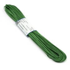 "Шнур отделочный 1с13 ""Сутаж"" 1,8мм цв.зелёный,1 метр"