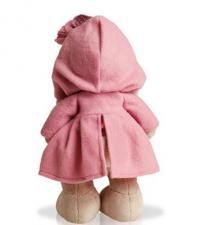 Зайка Ми в пальто, мягкая игрушка BudiBasa,25 см
