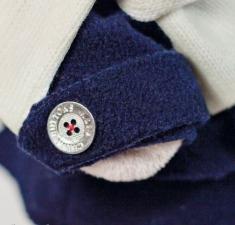 Зайка Ми в кепке, мягкая игрушка BudiBasa. Размер - 25 см.