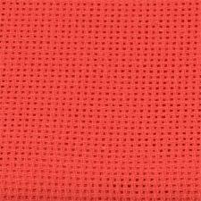Канва мелкая арт.851 (10х60кл) 40х50см цв.красный