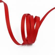 Лента IDEAL репсовая в рубчик шир.6мм цв. 260(5058) бордовый