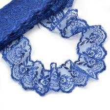 Кружево капроновое,45 мм,цвет тёмно-синий (120)