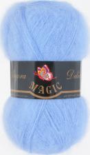 Пряжа Magic Angora delicate (15% мохер,10% шерсть,75% акрил,100гр/500м),1117 светло-голубой