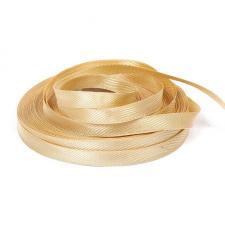 Лента для вешалок и петелек,8 мм,цв.золото (06)