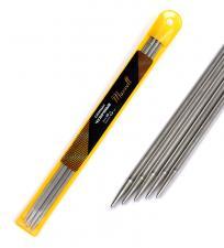Спицы для вязания чулочные Maxwell Gold, металл арт.25-45 Ø4,5 мм /25 см