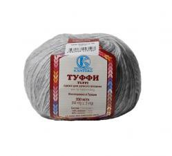 Камтекс | Пряжа Туффи (14% нейлон,86% нитрон, 50 г/350 м),008 серебристый