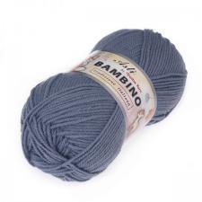 Троицкая пряжа | BAMBINO (100% акрил супер софт) 100г/250м цв.0017 серо-голубой