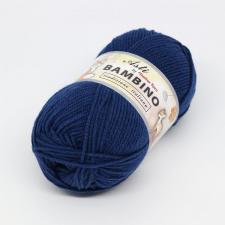 Троицкая пряжа | BAMBINO (100% акрил супер софт) 100г/250м цв.3605 синий