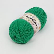 Троицкая пряжа | BAMBINO (100% акрил супер софт) 100г/250м цв.0723 яркая зелень