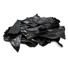 Лоскут кожевенный.Натуральная кожа арт.TBY-P1908-4 цвет чёрный уп.1кг