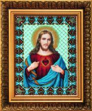 Чаривна мить | Икона Пресвятое Сердце Иисуса. Размер - 24 х 31 см