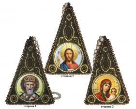 "Вышиваем бисером | Пирамидка ""Триптих"" L-153"
