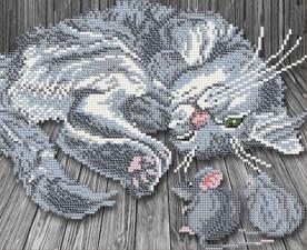 Арт Соло | Тише мыши. Размер - 24,1 х 19 см