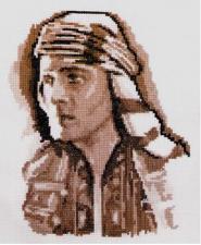 """Набор для вышивания Кларт """"Восточный принц"""". Размер - 17 х 21 см"""