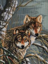 Lanarte (Ланарте) | Wolves/Волки. Размер - 29 х 39 см