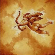 Lanarte (Ланарте) | Cupid-bow and arrow/Купидон. Размер - 25 х 25 см