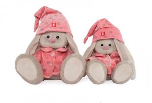 Зайка Ми в розовой пижаме, мягкая игрушка BudiBasa