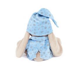 Зайка Ми в голубой пижаме, мягкая игрушка BudiBasa,размер 18 см