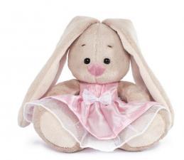 Зайка Ми в розовом платье. Размер - 15 см.