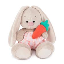 Зайка Ми в панталончиках и с морковкой. Размер - 15 см.