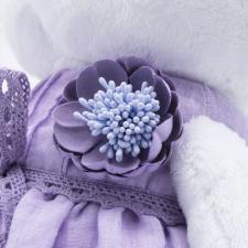 """Одежда для кошечки Ли-Ли в подарочной упаковке """"Лавандовое платье с цветком"""""""