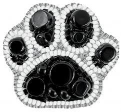 """Набор для изготовления броши Crystal Art """"Лапка"""". Размер - 5 х 4,5 см"""