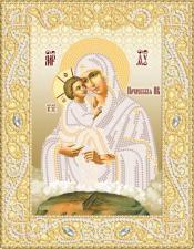 Маричка   Почаевская икона Божией Матери (золото). Размер - 18 х 23 см