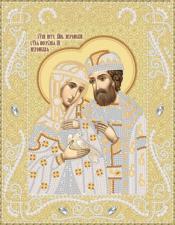 Маричка | Пётр и Феврония (золото). Размер - 18 х 23 см