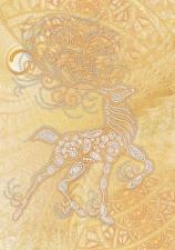 Маричка | Волшебный олень. Размер - 26 х 37 см