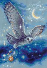 Риолис | Волшебная сова. Размер - 21 х 30 см