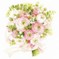 Риолис | Свадебный букет. Размер - 25 х 25 см