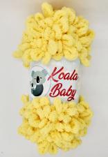 Пряжа Koala baby (100% полиэстер, 180 гр/16,7 м),115 жёлтый