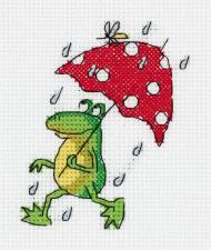 """Набор для вышивания Кларт """"Летний дождь"""". Размер - 10 х 12 см"""