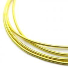 Канитель мягкая, гладкая 1,3 мм,цвет №06 матовый (светлое золото),5 г