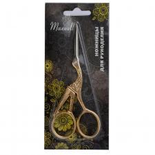 """Ножницы для рукоделия Maxwell """"Цапельки"""" арт.MAXW.TS-TN3, 115 мм"""