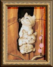 Арт Соло   Это мы,-коты! Размер - 27 х 38 см