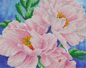 Цветок нежности. Размер - 32 х 26 см.