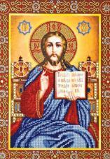 Венчальная пара Иисус. Размер - 28 х 38 см.