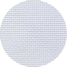 Канва для вышивания Аида №18 (10х70кл) размер 50 х 50 см цв.белый