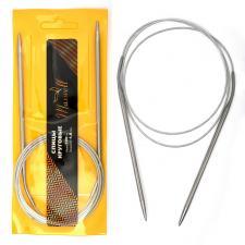 Спицы для вязания Maxwell Gold, круговые, металлические на тросике Ø4,0 мм /120 см