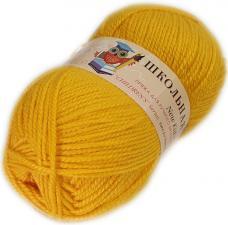Пехорка | Пряжа Школьная (100% акрил) 50г/150м цв.012 желток