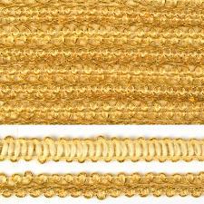 Тесьма Шанель,12 мм,цвет 0384-0016 (золото)