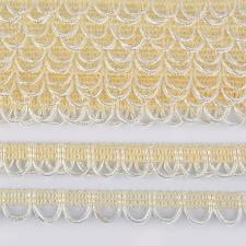Тесьма отделочная с петлями UU шир.18-19мм цвет 104 кремовый